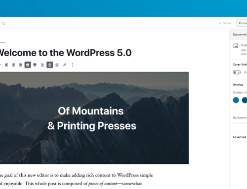 WordPress 5.0 Release Candidate